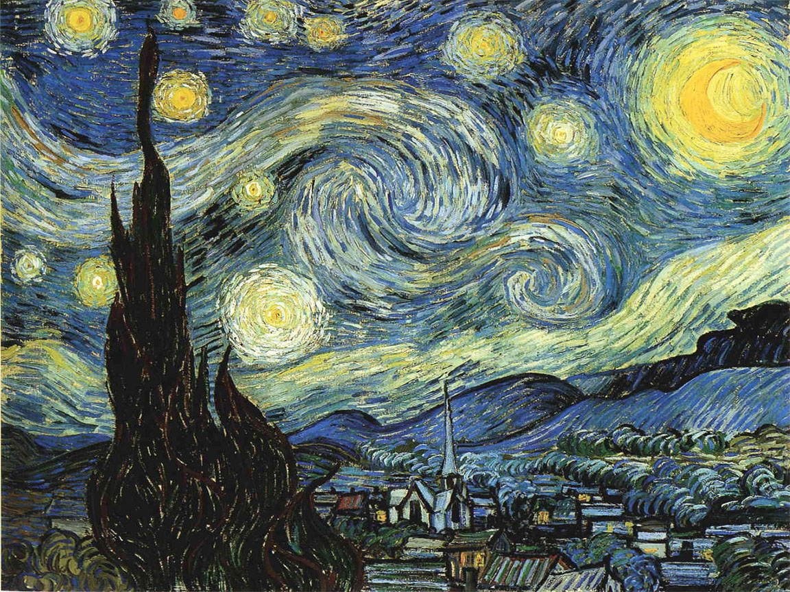Starry Night Vincent VanGogh(1152x864) fat soccer mom older milf with blond milf bend over