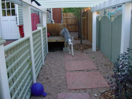 The Dog Run Leads Into A Section Of The Garage That I Had Blocked Off For  Them. That Way, I Can Keep Them Out Of The House But They Can Still Have ...